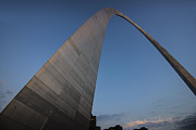Stan Musial Prints - St. Louis Gateway Arch 10 Print by David Haskett