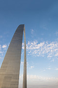 Gateway Arch Posters - St. Louis Gateway Arch G5 Poster by David Haskett