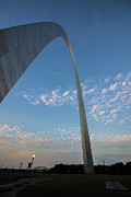 Stan Musial Prints - St. Louis Gateway Arch Sunrise 30 Print by David Haskett