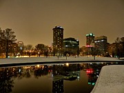 Skylines Photos - St. Louis - Winter at the Arch 007 by Lance Vaughn