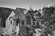 James BO  Insogna - St Malo Chapel On the Rock Colorado BW