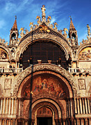 St. Marks Prints - St. Marks Square Print by John Rizzuto