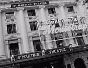 Mousetrap Framed Prints - St. Martins Theatre Framed Print by Jenny Hudson