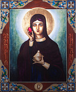 Orthodox Painting Prints - St. Mary Magdalene  Print by Fr Barney Deane
