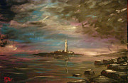 North Sea Paintings - St Marys Island by BJ Wight