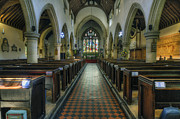 Nave Prints - St Marys - Wales Print by Ian Mitchell