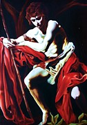 Carl Baker Art - St. Matthew by Carl Baker