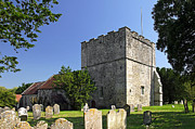 Grade 1 Prints - St Michaels Church - Shalfleet Print by Rod Johnson