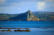 St. Michael Prints - St Michaels Mount Cornwall Print by Louise Heusinkveld