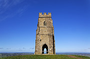 Saint Michael Photos - St Michaels Tower Glastonbury Tor by Robert Preston