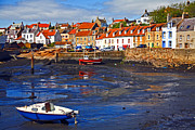 Craig Brown Art - St Monans Fife by Craig Brown