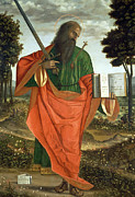 Saint Paul Prints - St. Paul Print by Vittore Carpaccio