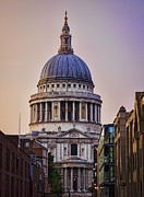 Pastor Prints - St Pauls Cathedral Print by Heather Applegate