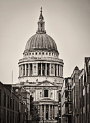 Priests Prints - St Pauls London Print by Heather Applegate