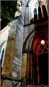 St. Paul's Presbyterian Church Hamilton Ontario  Canada Front View Print by Danielle  Parent