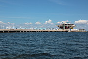 St Petersburg Florida Metal Prints - St Pete Pier Metal Print by Carol Groenen