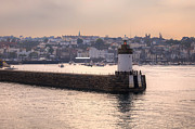 Guernsey Prints - St Peter Port Print by Joana Kruse