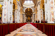 Christendom Framed Prints - St. Peters  Framed Print by Tim  Fitzwater