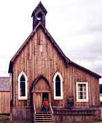 Barkerville Photos - St. Saviours Church by Robert  Rodvik