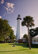 St. Simons Island Art - St. Simons Island Lighthouse by Kim Hojnacki