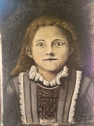Catholic Pastels Prints - St. Therese Print by Andrew Pierce