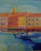 St. Tropez Print by Rhonda Brooks