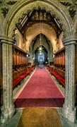 St Twrog Church Print by Adrian Evans