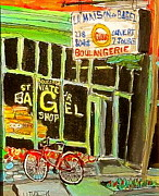 Michael Litvack Art - St. Viateur Bagel Shop by Michael Litvack