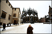 Synagogue Photo Originals - St. Vitus Cathedral  2 by Paul Sutcliffe