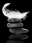 Round Sculpture Prints - Stability Print by Shawn Hempel