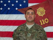 Staff Paintings - Staff Sergeant Daniel A Rodriguez by Bruce Nutting