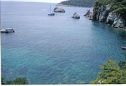 Skopelos Prints - Stafylos Beach Print by Katerina Kostaki