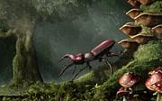 Daniel Eskridge - Stag Beetle