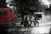 Famous Streets Originals - Stagecoach  by Tommy Hammarsten