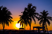 Isla Morada Prints - Staging Sunset Print by Rene Triay Photography