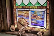 John Hoey - Stained Glass at Linekin...