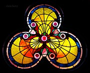 Stained Glass  Print by Chris Berry