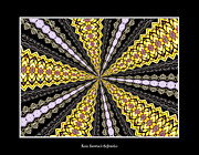 Avant Garde Photograph Posters - Stained Glass Kaleidoscope 11 Poster by Rose Santuci-Sofranko