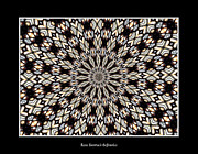 Avant Garde Photograph Posters - Stained Glass Kaleidoscope 13 Poster by Rose Santuci-Sofranko