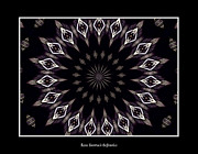 Avant Garde Photograph Posters - Stained Glass Kaleidoscope 15 Poster by Rose Santuci-Sofranko