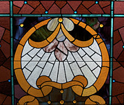Stained Glass Lc 09 Print by Thomas Woolworth
