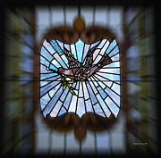 Stained Glass Lc 13 Print by Thomas Woolworth