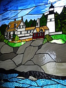 Jewels Blake Hamrick - Stained Glass Lighthouse...
