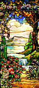 Tiffany Prints - Stained Glass No Border Print by Kristin Elmquist