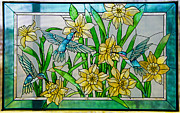 Paul Mashburn Art - Stained Glass by Paul Mashburn