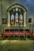 Bible Photos - Stained Glass - Ward and Hughes by Ian Mitchell