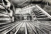 Stairs Metal Prints - Staircase I Metal Print by Everet Regal