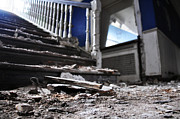 Quirky Jen Photos - Staircase Rubble