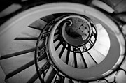 Toned Photos - Staircase by Sebastian Musial