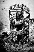 Spiral Staircase Photos - Staircase to Nowhere by Aron Kearney Photography
